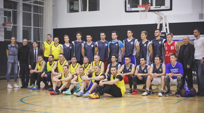 Матч звезд Томского баскетбола