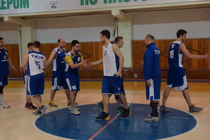 Лига баскетбола Томской области. ТУСУР - ТГУ (04.04.17)