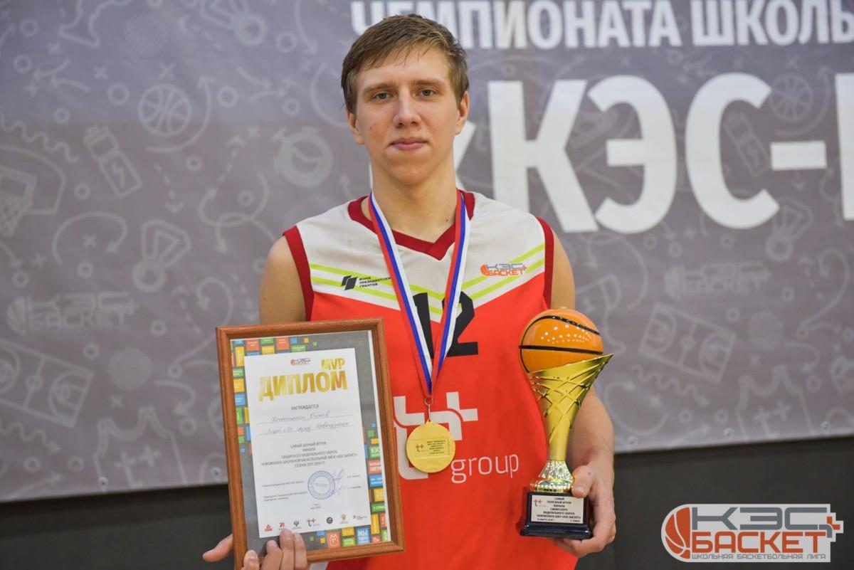 Финал чемпионата Школьной баскетбольной лиги КЭС-БАСКЕТ