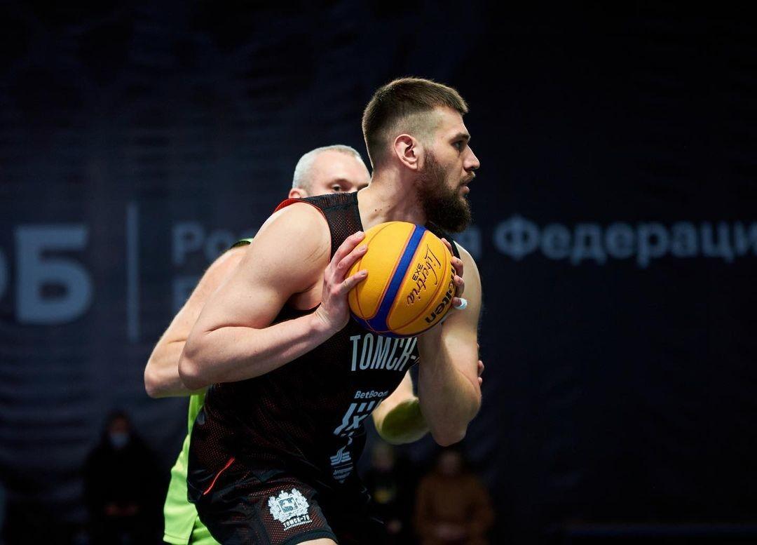 Второй тандем чемпионата России по баскетболу 3х3