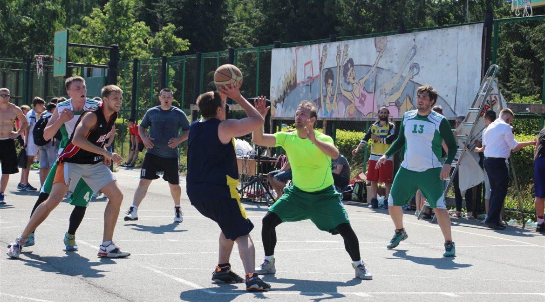 Чемпионат по стритболу в г.Кемерово (2015)