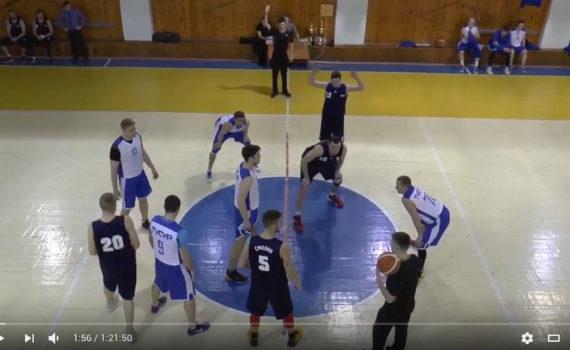 Финал Чемпионата города. ТУСУР vs Энергия газа (14.04.2017)