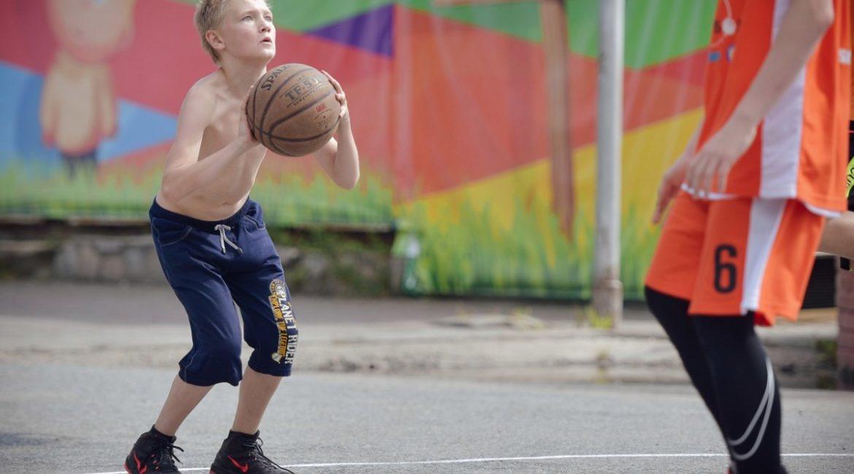 День Томича - соревнования по стритболу