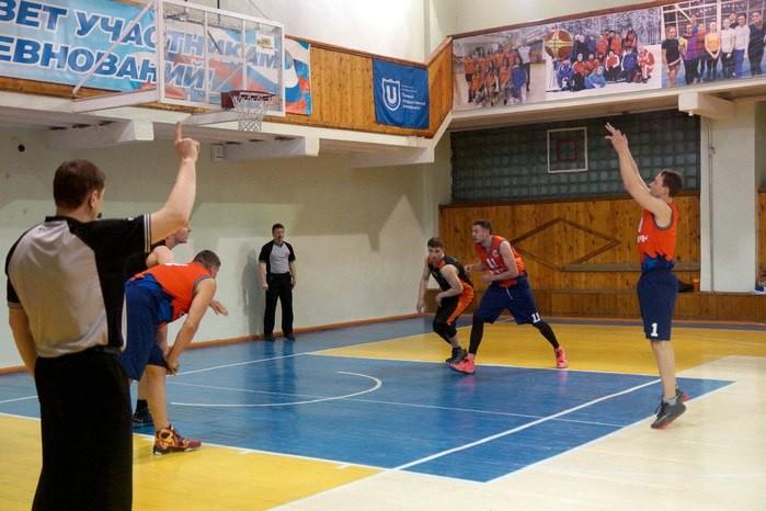 Первенство города по баскетболу среди мужских команд