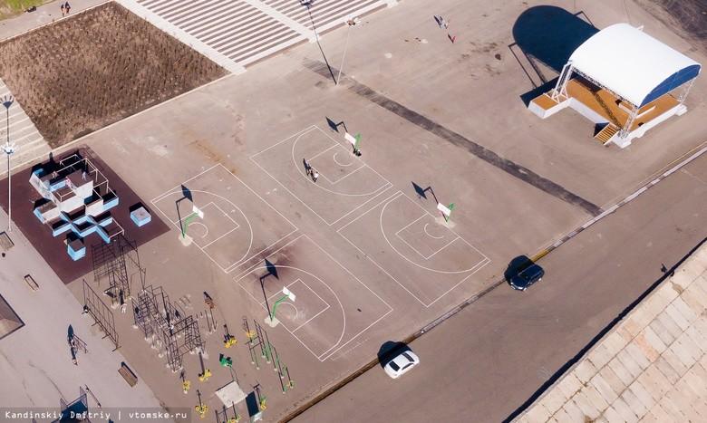 Площадка для стритбола в Лагерном саду