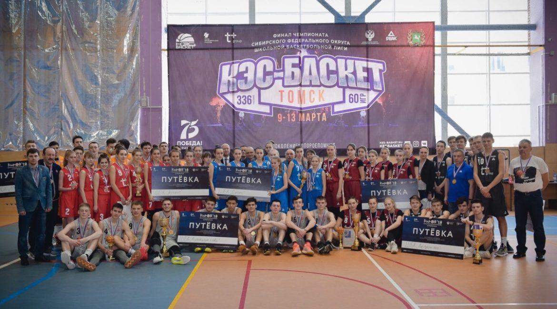 Финал чемпионата СФО лиги КЭС-баскет