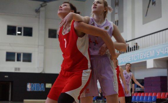 Открытая баскетбольная лига среди женских команд